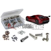 TRAXXAS XO-1 RTR STAINLESS STEEL SCREW KIT - RCTRA047