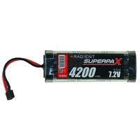 Firelands Radient Superpax Nimh Battery Sc 7.2V 6-Cell 4200Mah Stick Pack: Deans - Rdna0099