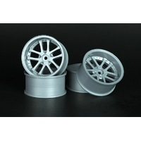"Speedline 087S3 Bigger Size ""2.2"" 10 Spoke Offset 7 Bright Silver - SL087S3"