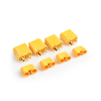 Tornado Rc Xt-90 Plug Male(Male Bullet With Female Housing)4Pcs/Bag - Trc-0105Bm