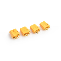 Tornado Rc Xt-60 Plug Female(Female Bullet With Male Housing)4Pcs/Bag - Trc-0105F
