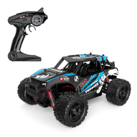 Tornado Rc Thunder Blue 1/18 4Wd Rtr High Speed Truck 2.4G 35Km 20 Minute Runtime Blue Body - Trc-18312