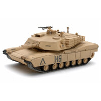 Waltersons 322015A 1/72 US MBT M1A1 Abrams Tank Desert Yellow - WT-322015A