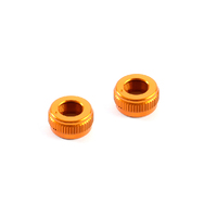 XRAY ALU ADJUSTABLE BODY POST STOP NUT 2PCS - XY301352-O
